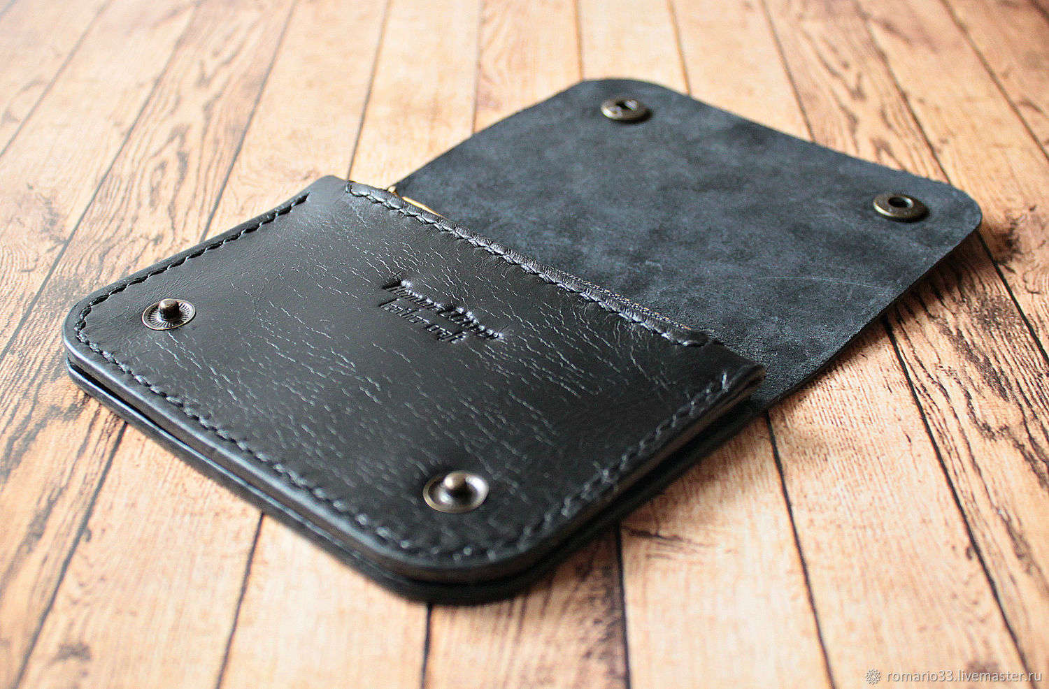 Mini Trucker wallet – shop online on Livemaster with shipping ...