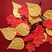 Работы для детей, ручной работы. Ярмарка Мастеров - ручная работа Листочки для танца. Handmade.