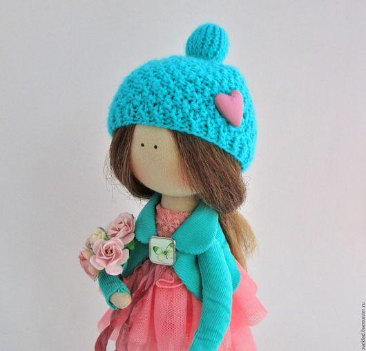 Коллекционные куклы ручной работы. Ярмарка Мастеров - ручная работа. Купить Текстильная интерьерная кукла. Handmade. Комбинированный, кукла текстильная