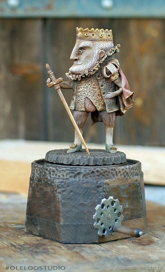 Плоский мир. Король Шон Дракон, Куклы и пупсы, Москва,  Фото №1