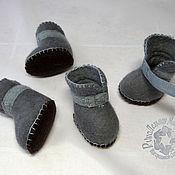 """Для домашних животных, ручной работы. Ярмарка Мастеров - ручная работа Обувь для собак """" Валеночки"""". Handmade."""