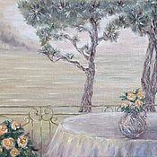 Картины и панно handmade. Livemaster - original item The picture Morning mist. Handmade.