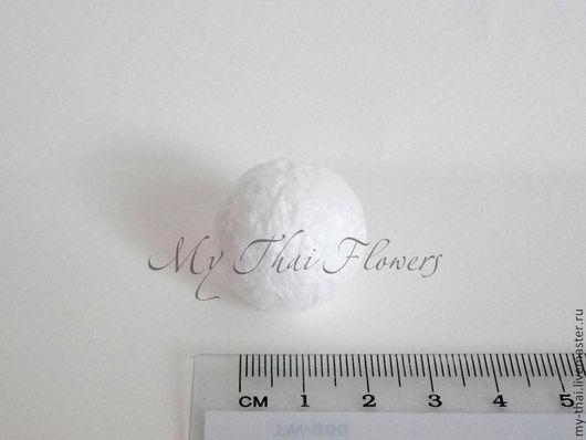 100 шт пенопласт шар 25 мм My Thai. Материалы для творчества из Таиланда