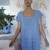 Одежда ручной работы. Ярмарка Мастеров - ручная работа Туника вязаная ажурная. Handmade.