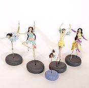 Куклы и игрушки ручной работы. Ярмарка Мастеров - ручная работа Фигурки балерины масштаб 1:43. Handmade.