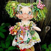 Текстильная кукла Марьюшка Искусница. Интерьерная кукла