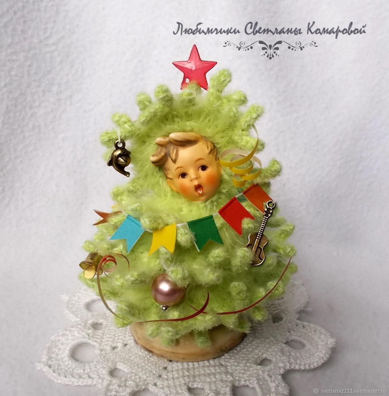Little Christmas tree...No. ...№8, Stuffed Toys, Chekhov,  Фото №1
