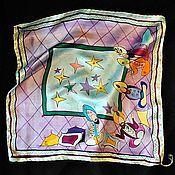 """Аксессуары ручной работы. Ярмарка Мастеров - ручная работа Шелковый шейный платок """"Султан"""". Handmade."""