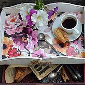 """Для дома и интерьера ручной работы. Ярмарка Мастеров - ручная работа Поднос с ящиком """"Dream"""" для дома, для дачи. Handmade."""