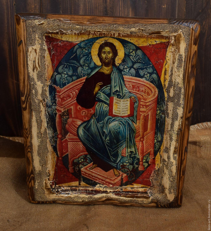 christ in majesty vs copy