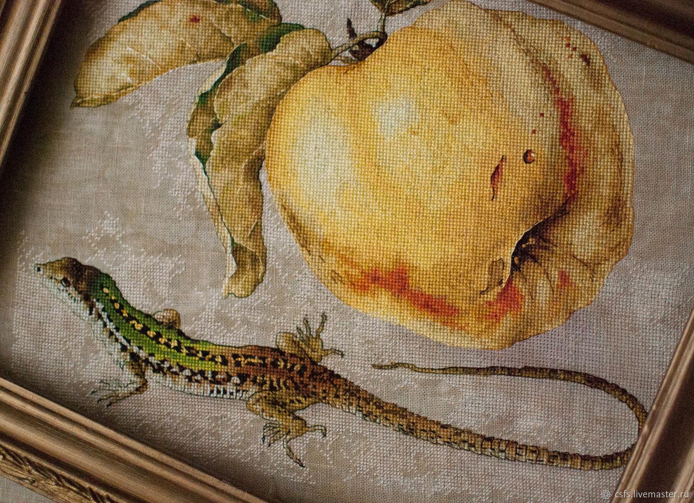 Схема картины из бисера аристократка
