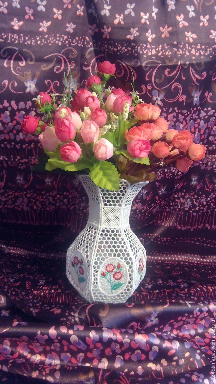 """Ваза """" Нежность цветов"""""""