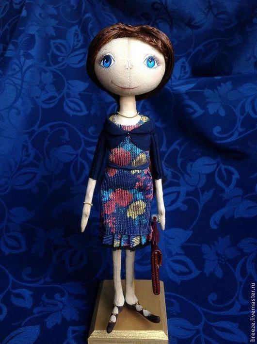 Куклы тыквоголовки ручной работы. Ярмарка Мастеров - ручная работа. Купить Кукла, приносящая успех в карьере. Handmade. Кукла