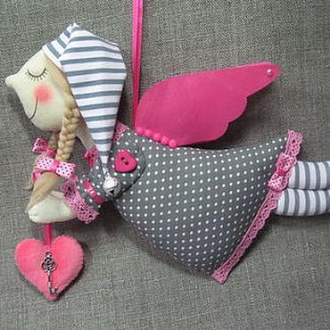 Куклы и игрушки ручной работы. Ярмарка Мастеров - ручная работа Ангел в колпачке. Handmade.