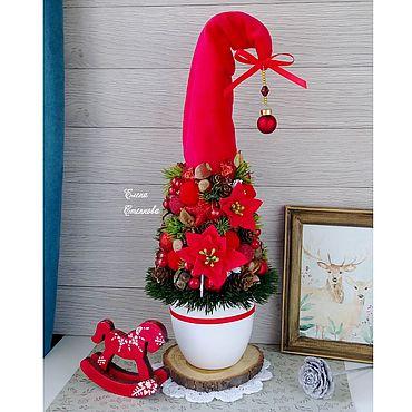"""Сувениры и подарки ручной работы. Ярмарка Мастеров - ручная работа Елка """"Рождество"""" Елка новый год. Handmade."""