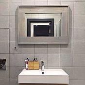Для дома и интерьера ручной работы. Ярмарка Мастеров - ручная работа Зеркало горизонтальное в раме. Handmade.