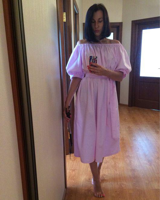 """Платья ручной работы. Ярмарка Мастеров - ручная работа. Купить Платье """"Нежно-лиловое"""". Handmade. Платье, платье коктейльное"""
