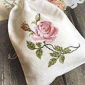 """Одежда ручной работы. Ярмарка Мастеров - ручная работа Мешочек для белья """" Аромат розы"""". Handmade."""