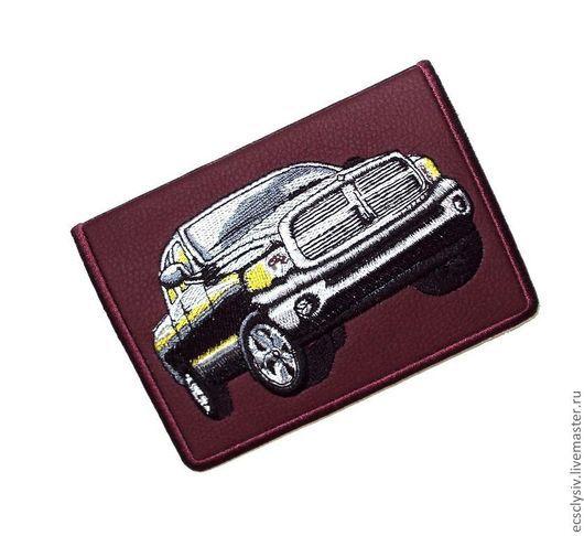 """Обложки ручной работы. Ярмарка Мастеров - ручная работа. Купить Обложка для автодокументов """" Авто """". Handmade. Обложка"""