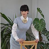 Одежда ручной работы. Ярмарка Мастеров - ручная работа Блузка Голубая дымка. Handmade.