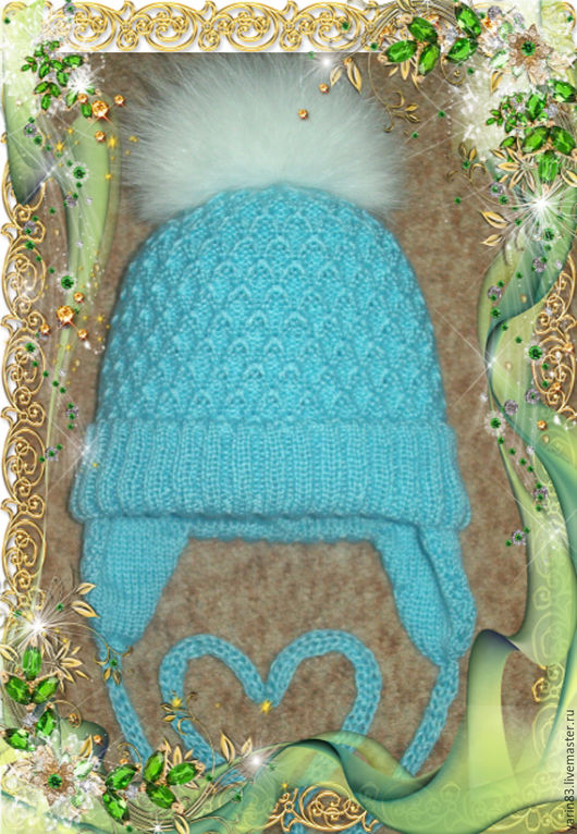 Одежда унисекс ручной работы. Ярмарка Мастеров - ручная работа. Купить шапочки на новорожденных. Handmade. Шапочки на новорожденных, теплые шапочки
