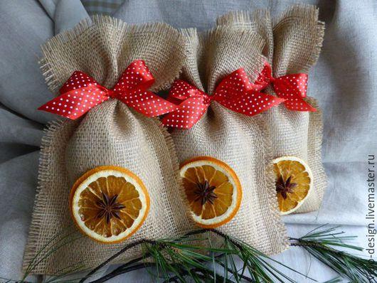 Как сделать подарочные пакеты своими руками из мешковины