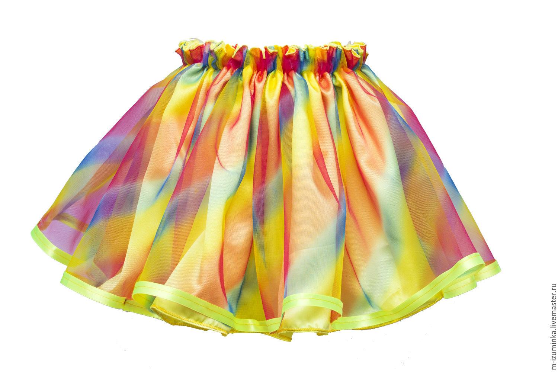 Из чего сшить пышную детскую юбку 294