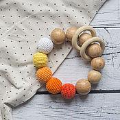 Одежда handmade. Livemaster - original item Teether juniper in shades of orange. Handmade.