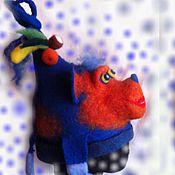 Аксессуары ручной работы. Ярмарка Мастеров - ручная работа шапка обезьянка. Handmade.