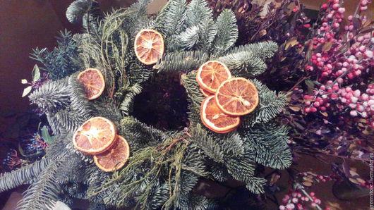 Материалы для флористики ручной работы. Ярмарка Мастеров - ручная работа. Купить Апельсиновые дольки 10 штук. Handmade. Оранжевый, упаковка