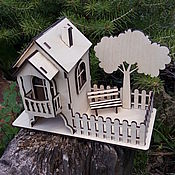 """Домики ручной работы. Ярмарка Мастеров - ручная работа Чайный домик """"Дерево у дома"""". Handmade."""