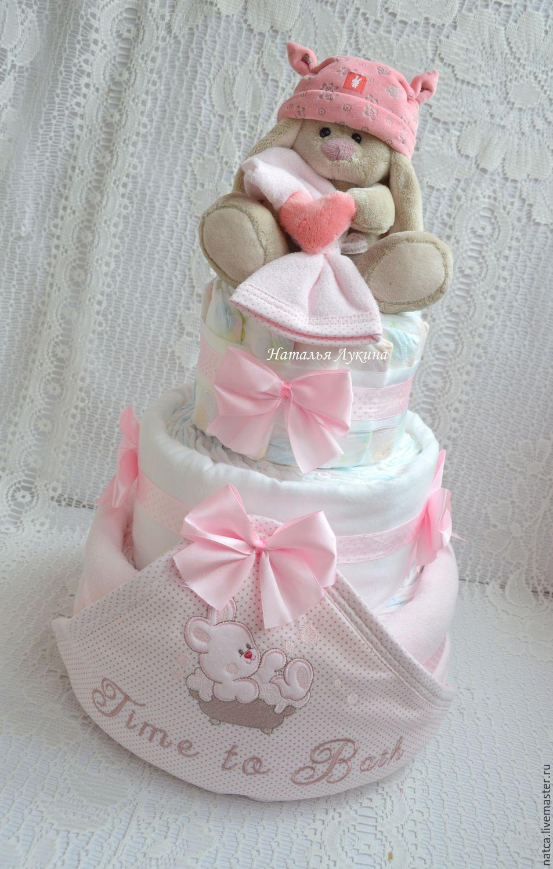 Подарок для новорожденного из памперсов фото