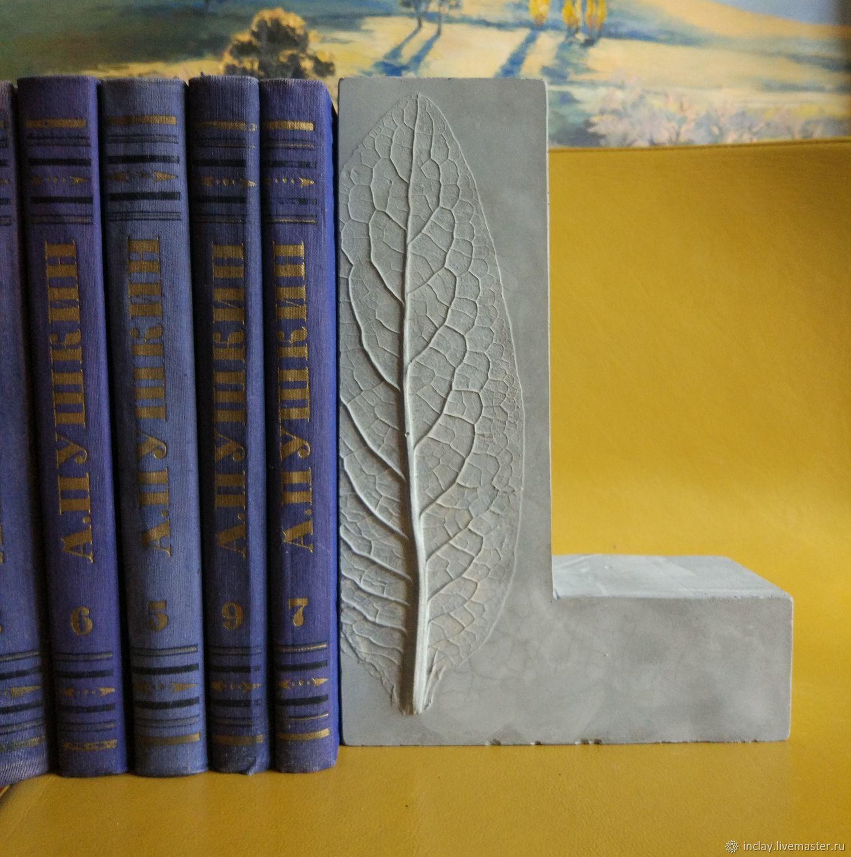 Держатель для книг (Book End/букэнд) из бетона, Держатели, Зеленоград,  Фото №1