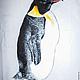 """Футболки, майки ручной работы. Футболка с ручной росписью """"Пингвин"""". BelkaStyle -кеды, футболки, зонты. Интернет-магазин Ярмарка Мастеров."""
