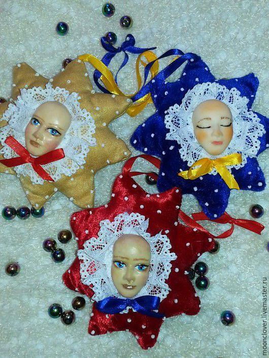 """Коллекционные куклы ручной работы. Ярмарка Мастеров - ручная работа. Купить Интерьерная игрушка """"Звезда"""". Handmade. Ярко-красный"""