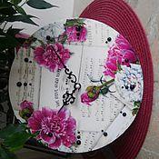 Для дома и интерьера ручной работы. Ярмарка Мастеров - ручная работа Часы ручной работы. Handmade.