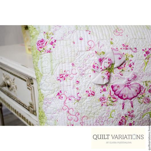 """Текстиль, ковры ручной работы. Ярмарка Мастеров - ручная работа. Купить Подушка """"Балерина"""". Handmade. Комбинированный, винтажный стиль, подушка"""