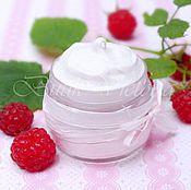 Косметика ручной работы handmade. Livemaster - original item Cream Raspberry. Handmade.