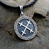 Украшения handmade. Livemaster - original item Pendant / Amulet symbol of Goddess the Mary from silver 925. Handmade.
