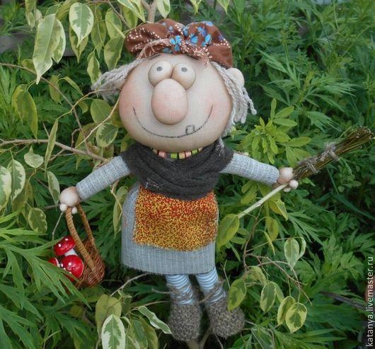 """Сказочные персонажи ручной работы. Ярмарка Мастеров - ручная работа. Купить Кукла """"Баба-Яга"""" текстильная. Handmade. Баба-яга"""