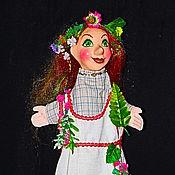 Куклы и игрушки ручной работы. Ярмарка Мастеров - ручная работа Перчаточная кукла Кикимора. Handmade.