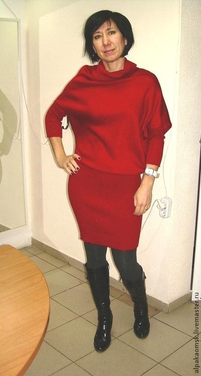 Платья ручной работы. Ярмарка Мастеров - ручная работа. Купить платье вязанное. Handmade. Платье вязаное, платье трикотажное