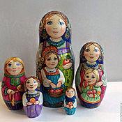 """Русский стиль handmade. Livemaster - original item Матрешка""""Яблочный Спас"""". Handmade."""