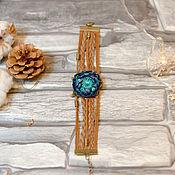 Украшения handmade. Livemaster - original item Bracelet Artichoke from polymer clay. Handmade.