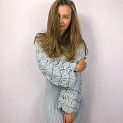 Одежда handmade. Livemaster - original item Knit pattern dress. Handmade.