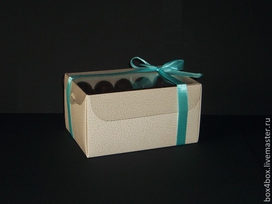 Упаковка ручной работы. Ярмарка Мастеров - ручная работа. Купить Коробка с пластиковой крышкой. Handmade. Белый, упаковка для подарка