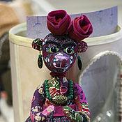 """Куклы и игрушки ручной работы. Ярмарка Мастеров - ручная работа мишка """"Фрида"""". Handmade."""