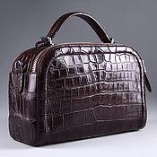 Сумки и аксессуары handmade. Livemaster - original item Crocodile skin belly bag IMA0708K4. Handmade.