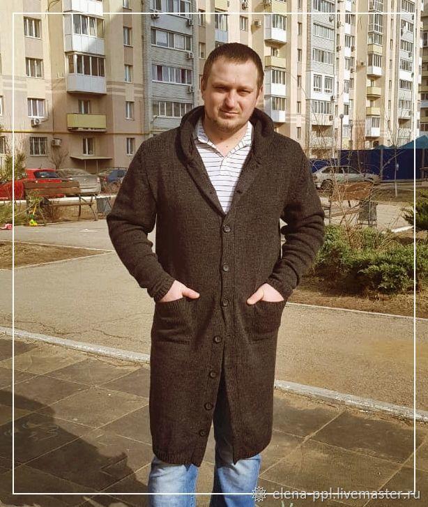 Пальто мужское с капюшоном, Верхняя одежда мужская, Москва,  Фото №1
