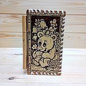 Для дома и интерьера handmade. Livemaster - original item Birch bark jewelry box